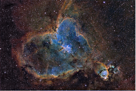 Narrowband Image Taken in Boston
