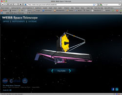 Webb Telescope Screen Shot