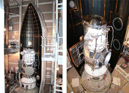 WISE Spacecraft Main Fairing