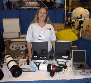 Lunt Booth at NEAF